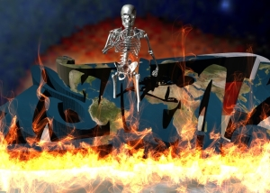 Image created in Strata 3D Design,Poser,Sketchbook Pro and Flame Painter