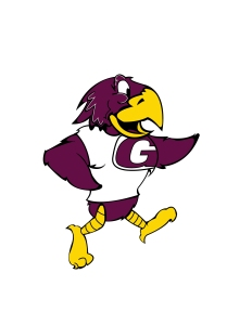 Rudy the Red Hawk, logo/mascot created for Gateway Technical College in Illustrator.